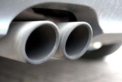 Dieselskandal Auspuff Dieselauto